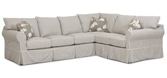 Klaussner Sectionals Transitional 2 Piece Sectional Sofa By Klaussner Wolf And