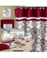 Burgandy Shower Curtain On Sale Now 30 Off Popular Bath Harmony Shower Curtain Burgundy