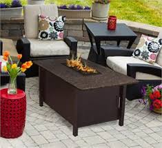 outdoor coffee table height outdoor fire pit coffee table carmel chat height with american fire