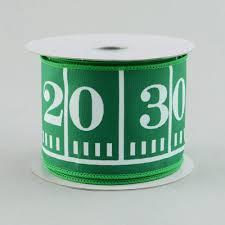 football ribbon 2 5 green football field marker ribbon 10 yards rg1413