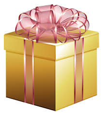 large gold gift box with pink bow gallery yopriceville high