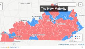 kentucky house map republicans gain of ky house of representatives