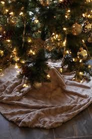 sew christmas tree skirt christmas lights decoration