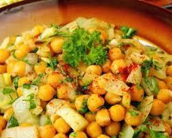 comment cuisiner les pois chiches recette salade de pois chiches simple