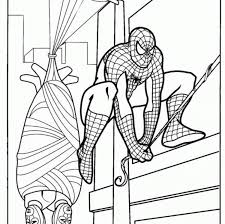 spiderman coloring game coloring