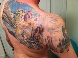 30 tattoos for die hard fishermen