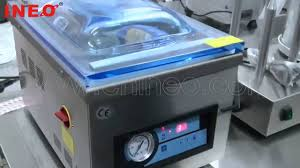 Vaccum Sealing Machine Table Top Automatic Food Vacuum Packing Machine Youtube