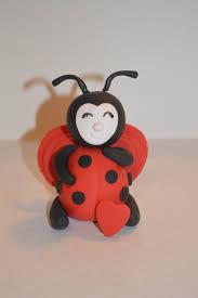 fondant ladybug cake topper fondant valentine u0027s ladybug cake