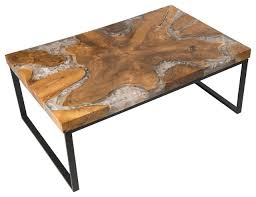 Resin Wood Outdoor Furniture by Cracked Resin Coffee Table Coffee Tables By Aire Furniture
