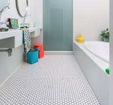 ideas for bathroom floors cool bathroom floors images contemporary bathroom with bathtub