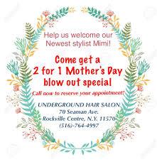 underground hair salon home facebook
