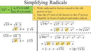 simplifying radicals worksheet algebra 2 free worksheets library