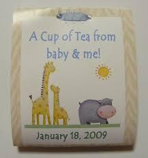 tea bag party favors 12 baby shower jungle tea bag party favors