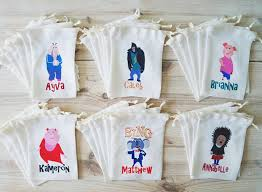 personalized party favors sing favor bags sing party favors personalized party