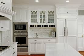 alexandria white kitchen with peninsula island