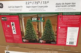 splendi costco tree ge pre lit led