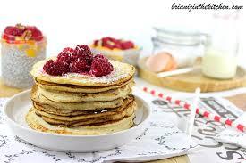 recette pancakes hervé cuisine pancakes au coco sans gluten ni lactose brian iz in the kitchen