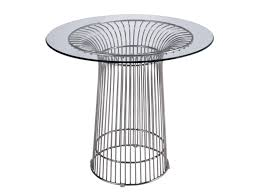 Warren Platner Chair Platner Wire Dining Table 80cm Platinum Replica