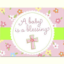 blessing baby blessed baby girl baby shower invitations 8pk parties4kids