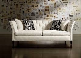 tufted leather sofa living room tufted leather sofa ethan allen hutch ethan allen