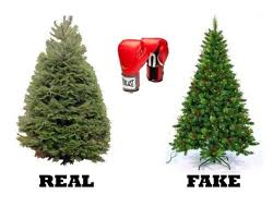 vs artificial tree
