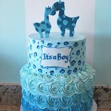 giraffe baby shower cakes shower cakes