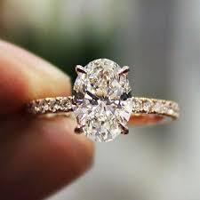 model berlian model cincin kawin berlian bentuk oval 2018 model cincin terbaru