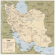 Unlv Map Iran Maps Perry Castañeda Map Collection Ut Library Online