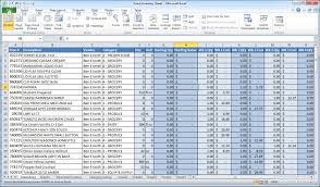 Inventory Control List Inventory Excel Templates Perpetual Inventory Control Template