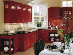Red Backsplash For Kitchen Red Country Kitchen U2013 Best Design For Big Small Kitchen Homesfeed