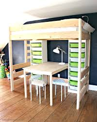 girls loft bed with a desk and vanity loft beds girls loft bed with desk underneath house shape rug and