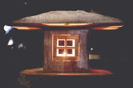 build custom molds to pour a concrete japanese lantern make