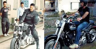 hellcat x132 dhoni injured ms dhoni takes his harley davidson for a spin