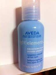 aveda light elements smoothing fluid aveda light elements smoothing fluid travel size 40ml 1 4oz