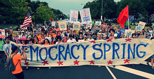 Political Organizing Democracy Spring