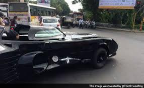 batmobile spotted pune kai zhala batman