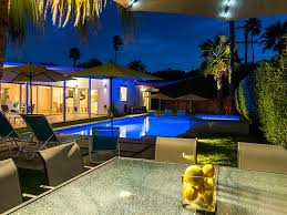 Vacation Homes In Virginia Beach With A Pool Midcentury Pool Retreat Vacation Palm Springs