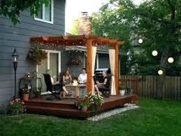 Gazebo Ideas For Backyard Backyard With Gazebo Copyriot Co