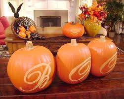 Pictures Of Halloween Crafts Using A Pumpkin Carving Template Hgtv