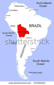 south america map bolivia south america bolivia stock vector 317684834