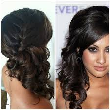 prom hairstyles side curls curly hairstyles fresh curly prom hairstyles for long hair to the