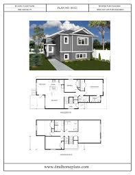 bi level plans dmd home plans