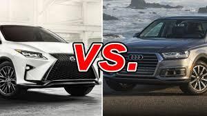 lexus vs audi lexus rx 350 vs audi q7 carsdirect