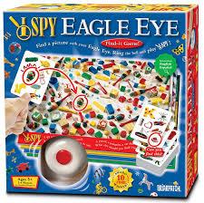 amazon com i spy eagle eye game game toys u0026 games