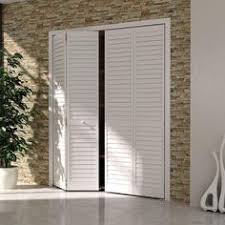 interior louvered doors home depot bay 36 in x 80 in 36 in plantation louvered solid