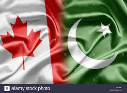 Canadian Flag 1960 Canada And Pakistan Stock Photo Royalty Free Image 55344394 Alamy