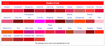 different shades of red how to make yourself smarter using colors