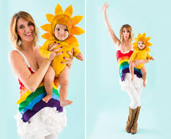 family halloween costumes for 3 6 genius diy mom and baby halloween costumes baby halloween