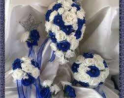 wedding flowers royal blue gorgeous vintage wedding flowers brides bridesmaids