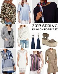Spring 2017 Trends by 2017 Spring Fashion Forecast